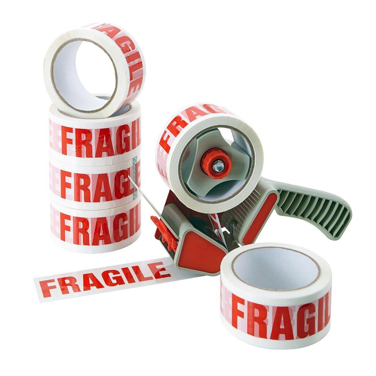 ACIT FRAGILE Nastro Adesivo con Scritta Fragile