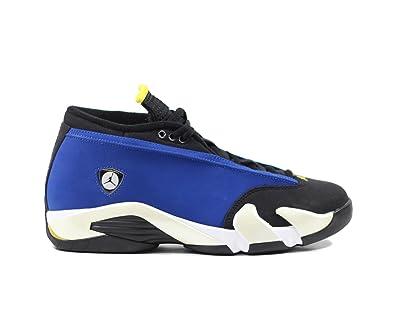 on sale ad813 af4ca Jordan Men Air 14 Low (Blue/Varsity Royal/Varsity Maize/White)