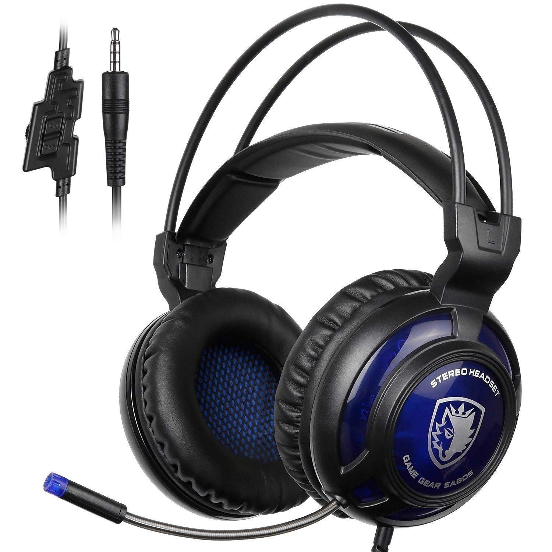 Auriculares Gamer : SADES SA805 Over-Ear  con Mic para Multi