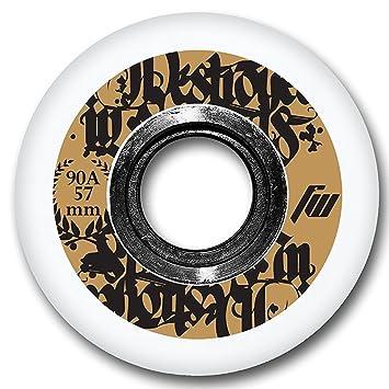 FreeWheeling 4-Pack Ruedas para patines en línea o Skateboard Aggressive 57mm 1117549: Amazon.es: Deportes y aire libre