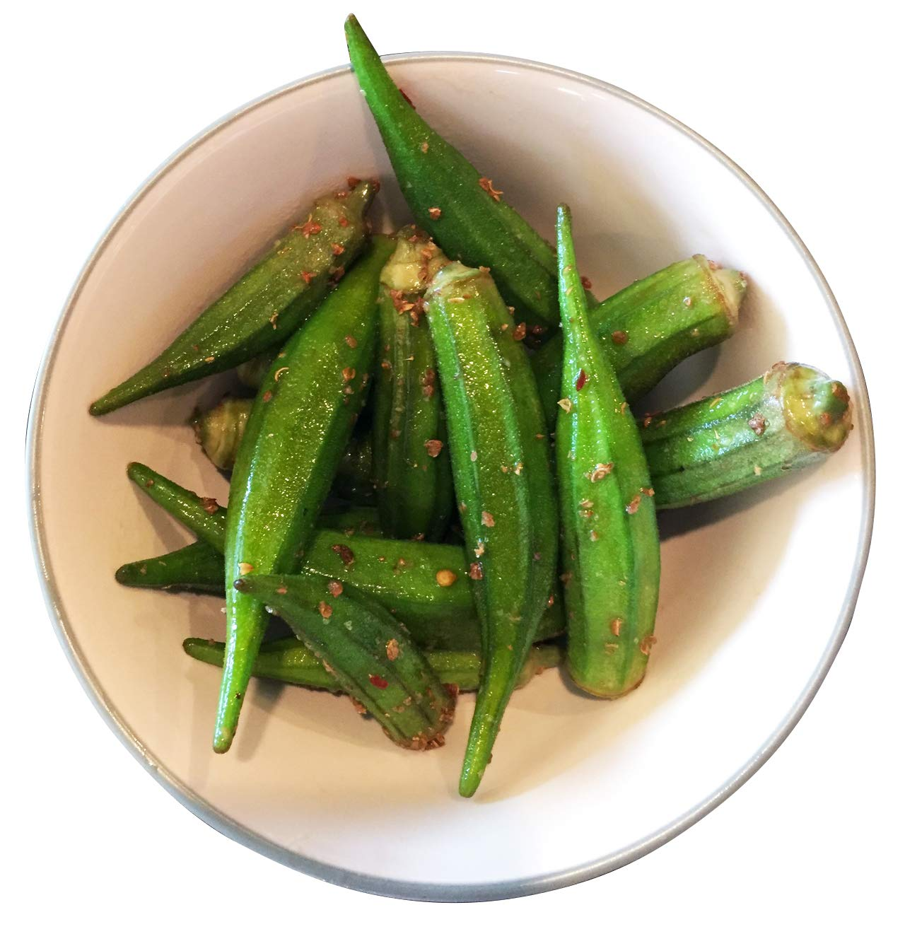 1000 Samen -Okra Grün- -Abelmoschus esculentus- ***Kalorienarme*** Saatguthandel Samenchilishop