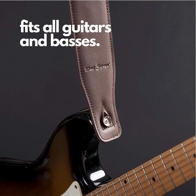 Dat Strap Correa De Guitarra De Cuero | Para Guitarra Eléctrica ...