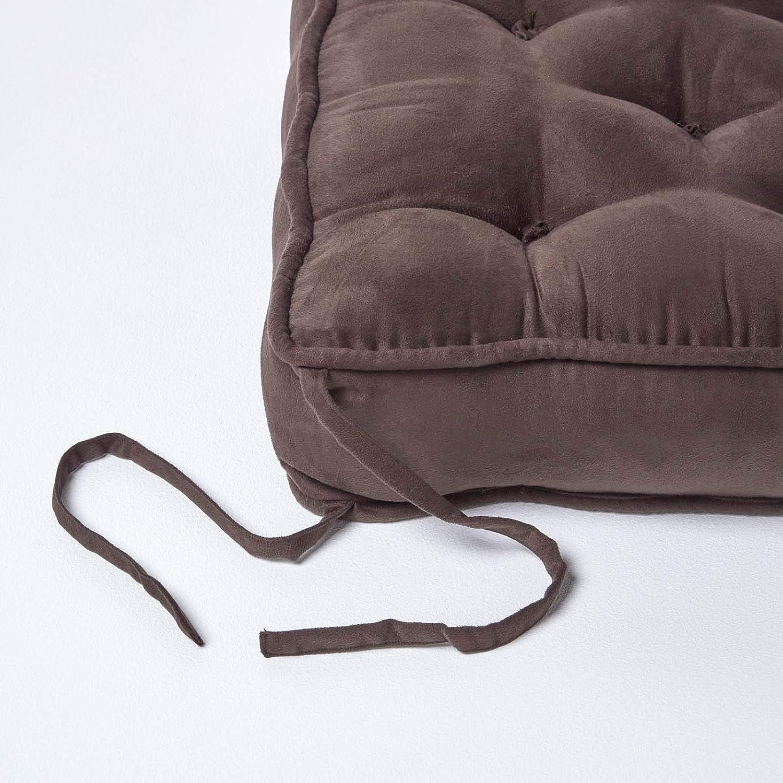 nxtbuy Set x2 Galettes De Chaise Capitonn/ées 38 x 38 x 6 cm Couleur:Aqua Coussins De Si/ège Rembourr/és Confortables pour Int/érieur Et Ext/érieur
