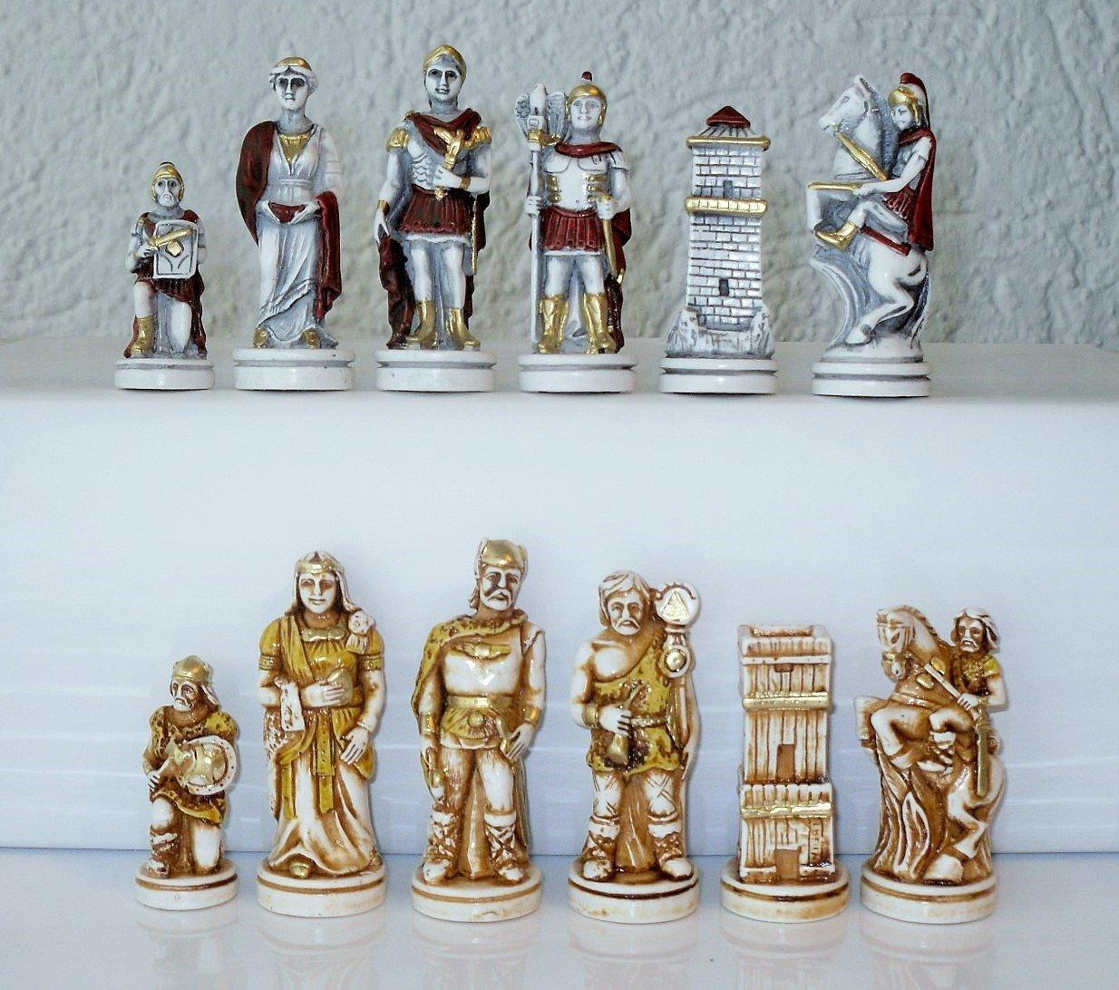 G&S Schachfiguren Schlacht von Actium