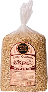 product image for Amish Country Popcorn | 6 lb Bag | Medium White Popcorn Kernels | Old Fashioned with Recipe Guide (Medium White - 6 lb Bag)