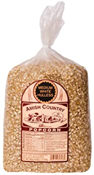 Amish Country Popcorn Medium White Popcorn Kernels