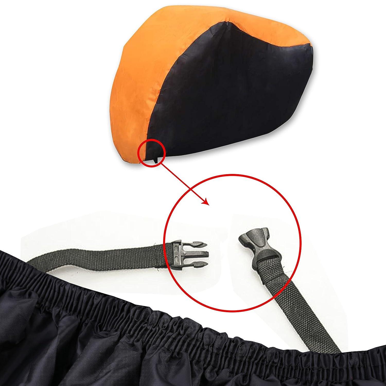 Bche de protection de moto Bche /étanche et r/ésistante aux conditions hivernales Avec sac Utilisation int/érieure et ext/érieure 190T Taille L