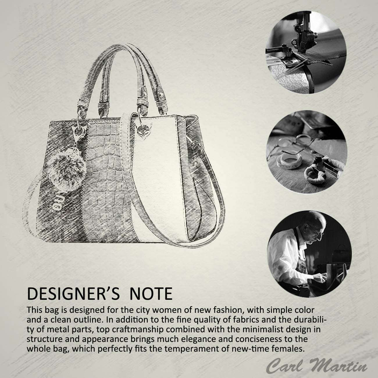 NICOLE /& DORIS Femmes Sacs /à Main bandouli/ère Sac d/épaule Baguette pour Dames Sacs Femmes de Mode Retro Sac /à Main en Cuir PU Blanc