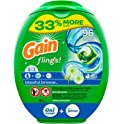 96-Count Gain flings Liquid Laundry Detergent Pacs (Blissful Breeze)