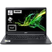 "Acer Aspire 5 A515-54G-5981 Notebook con Processore Intel Core i5-10210U, Ram da 8 GB DDR4, 512GB PCIe NVMe SSD, Display da 15.6"" FHD LED LCD, NVIDIA GeForce MX250 2 G GDDR5, Windows 10 Home, Nero"