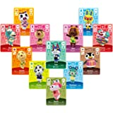 Linkinbot 24Pcs ACNH Animal Crossing Series 1-4 NFC Game Cards New Horizons Villagers Cards
