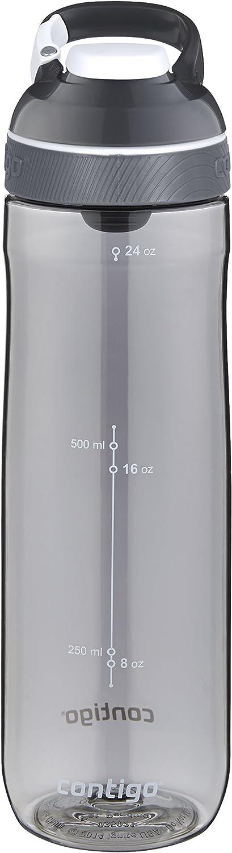 Contigo AUTOSEAL Cortland Water Bottle, 24 oz., Smoke