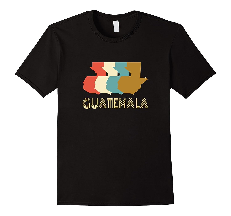 Vintage Guatemala T-shirt I Love Guatemala Map Shirt-Vaci