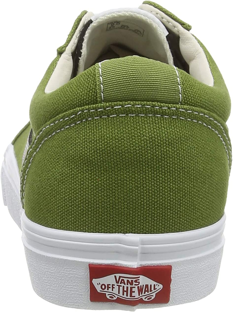 Vans Ward Canvas, Sneakers Homme Vert Retro Sport Calla Green White