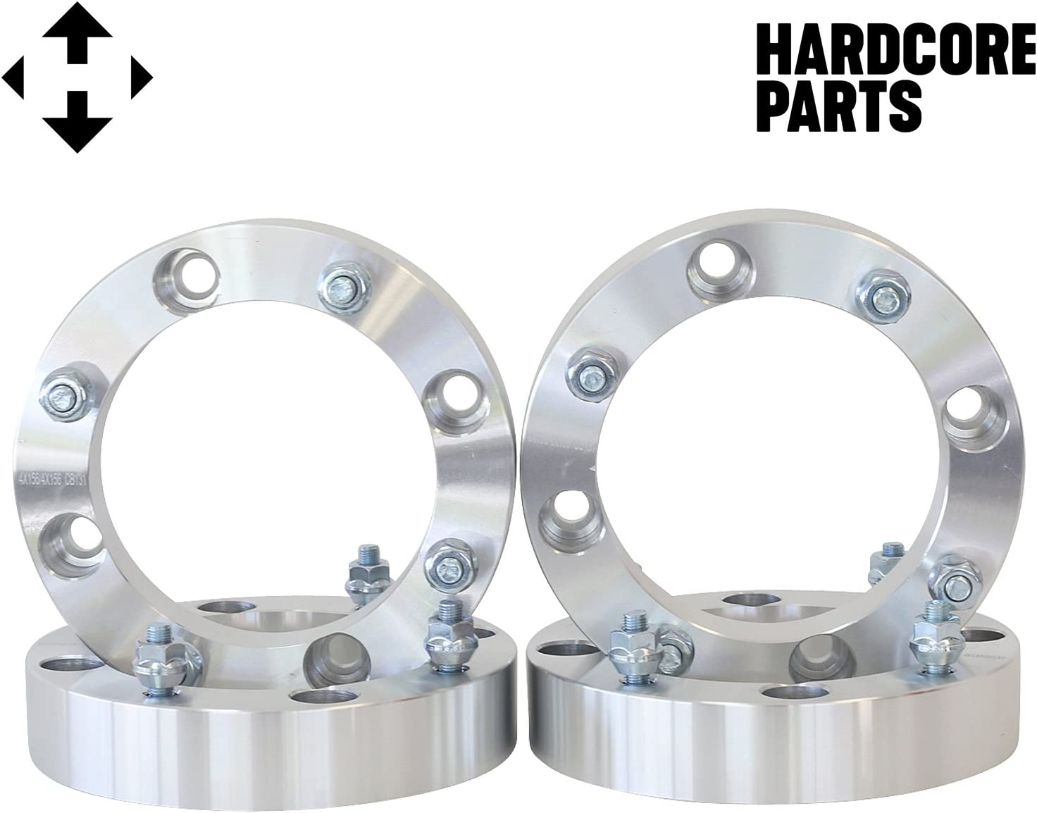 "2 X 2/"" ATV Wheel Adapters Yamaha YFM660 YFM700 Raptor Banshee 350 4x156 Spacers"