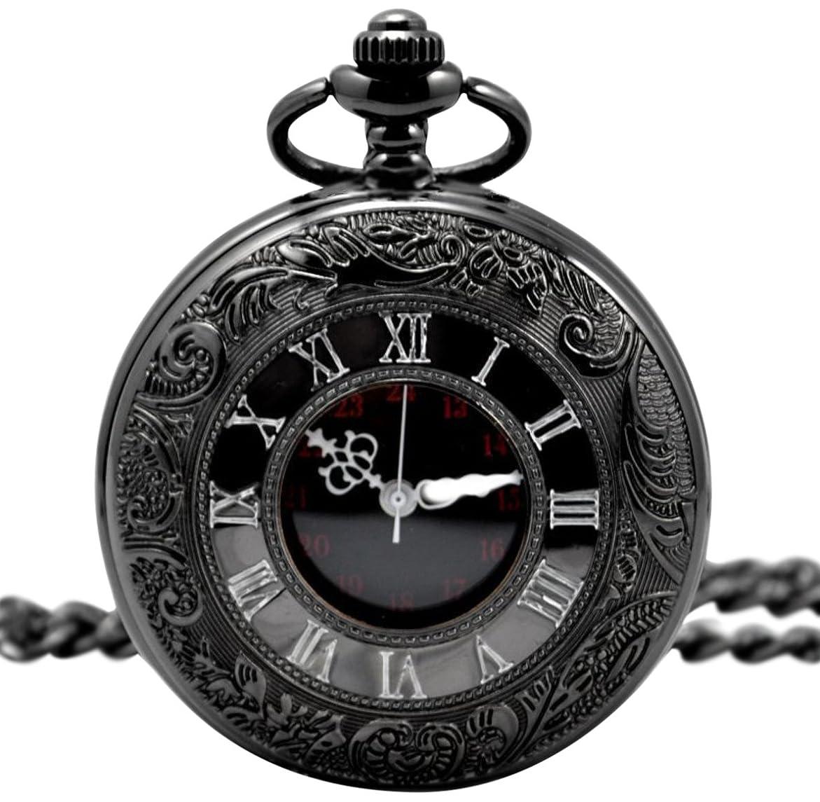 収まる粘液器官時計 カラビナ付き ポケットウォッチ 懐中時計 SCP37