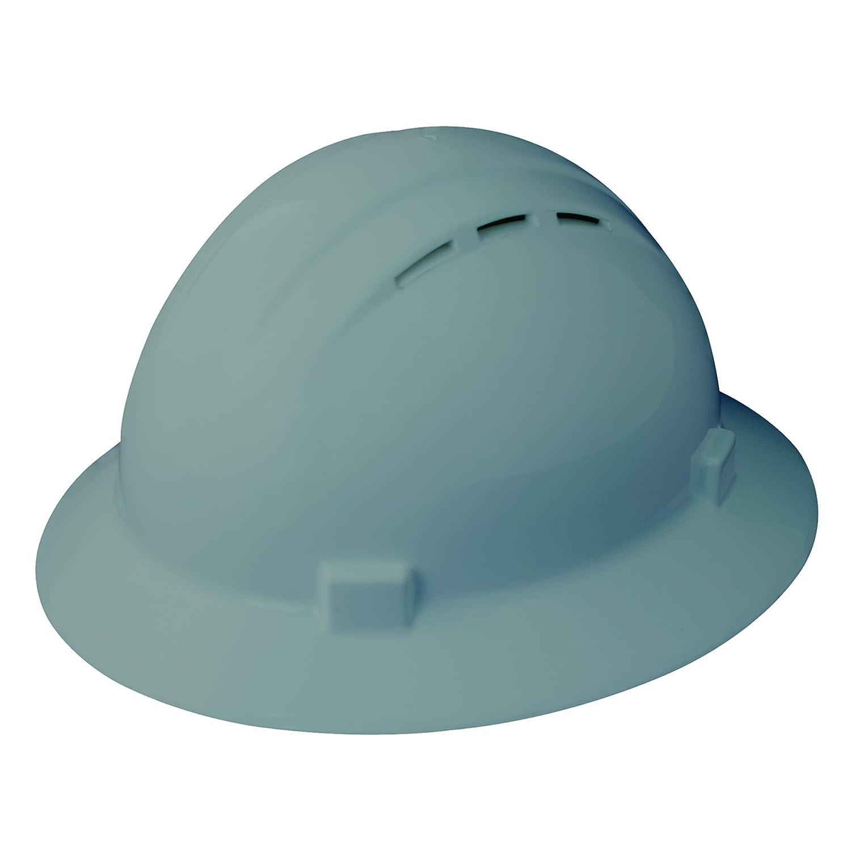 ERB 19436 Americana Vent Cap Style Hard Hat with Mega Ratchet Rat Blue