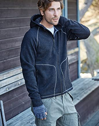 aae88a35 Tee Jays Meens Hooded Aspen Fleece Mens Fleeces TJ9617: Amazon.co.uk:  Clothing