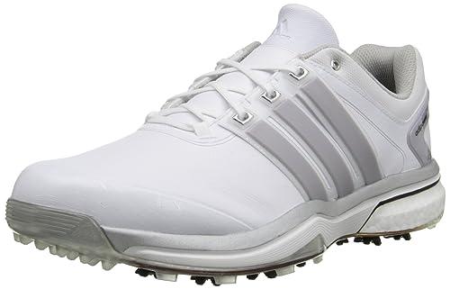 adidas Men's Adipower Boost Golf Shoe, Running WhiteSilver