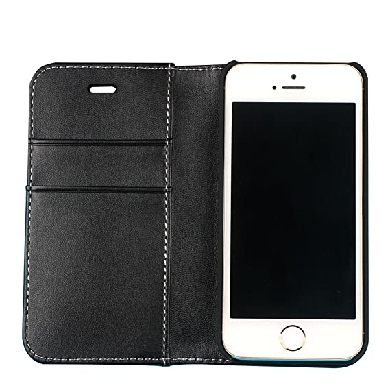 best service 8fa91 e8922 Amazon.com: Huihan Radiation protector for Mobile Phone Leather ...