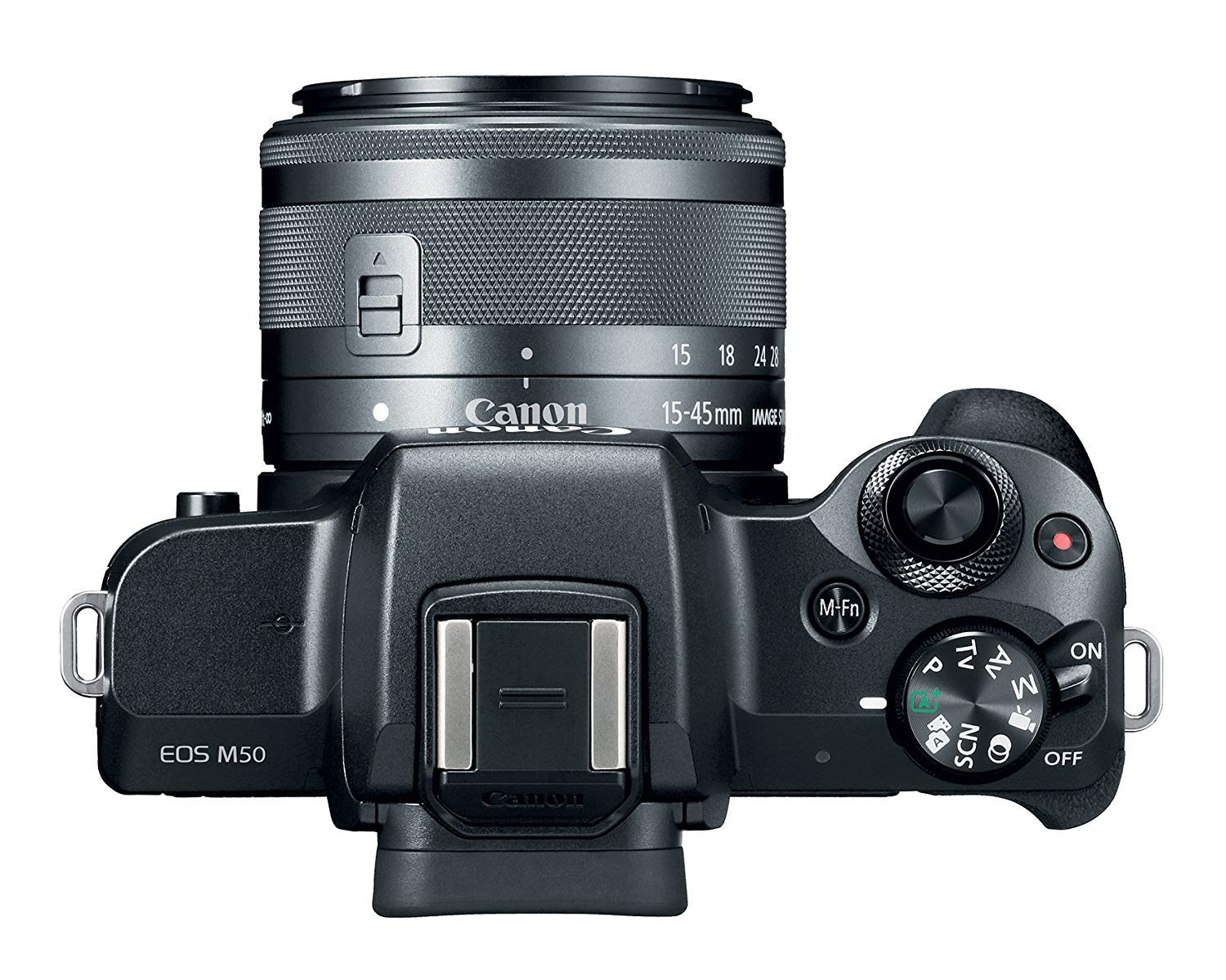 Canon EOS M50 Mirrorless Camera with EF-M 15-45mm f/3.5-6.3 and EF-M 55-200mm f/4.5-6.3 is STM Lenses, Black - Bundle with 16GB SDHC Card, Camera Case, 49mm/52mm Filter Kits, Cleaning Kit, and More by Canon (Image #3)