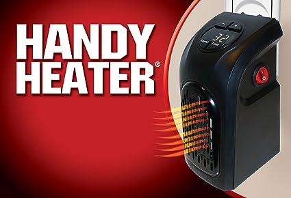 Handy Heater: Calefactor portátil de pared
