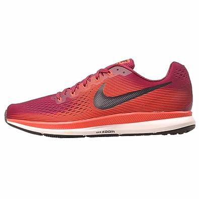 the latest b3bbd 62158 Nike Men's Air Zoom Pegasus 34 Running Shoe (15 D(M) US, Rush Maroon/Black)
