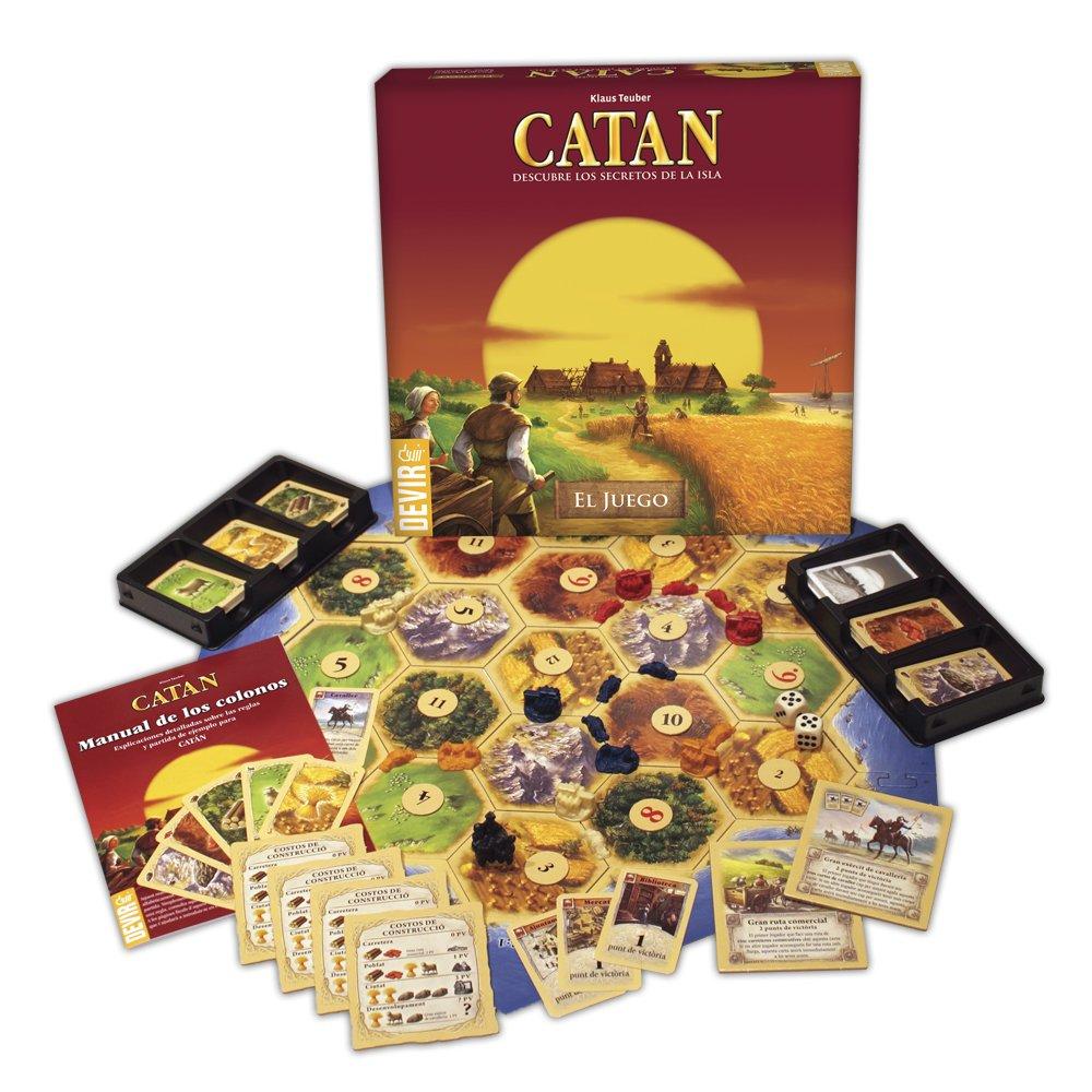 Devir Catan juego de mesa BGCATAN