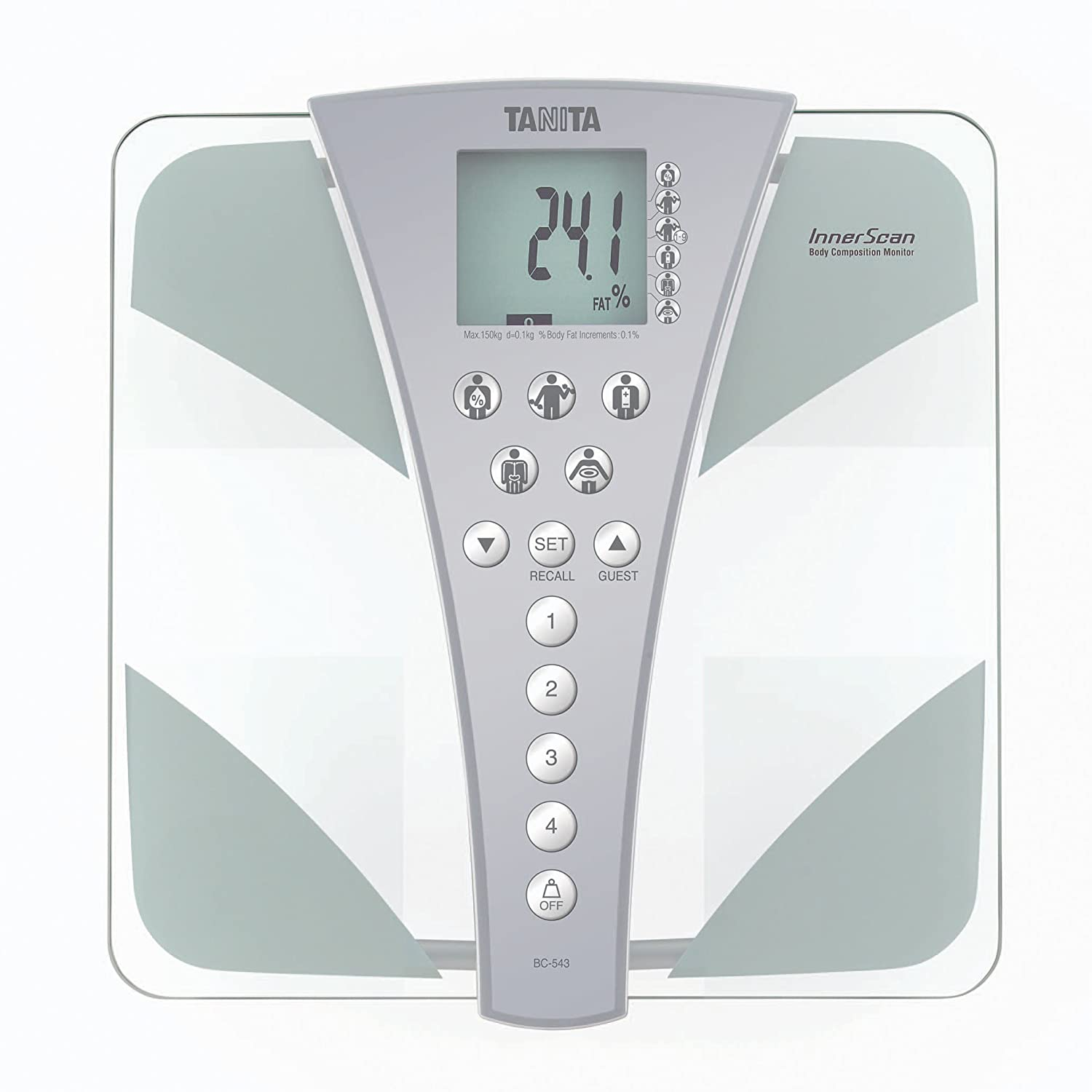 Amazon.com: (TANITA) InnerScan Body Composition Monitor (BC-543): Home & Kitchen