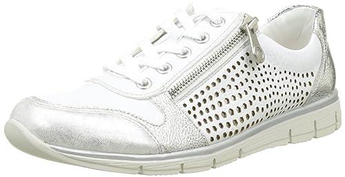 Womens N4025 Low-Top Sneakers Rieker sM79svU9SG