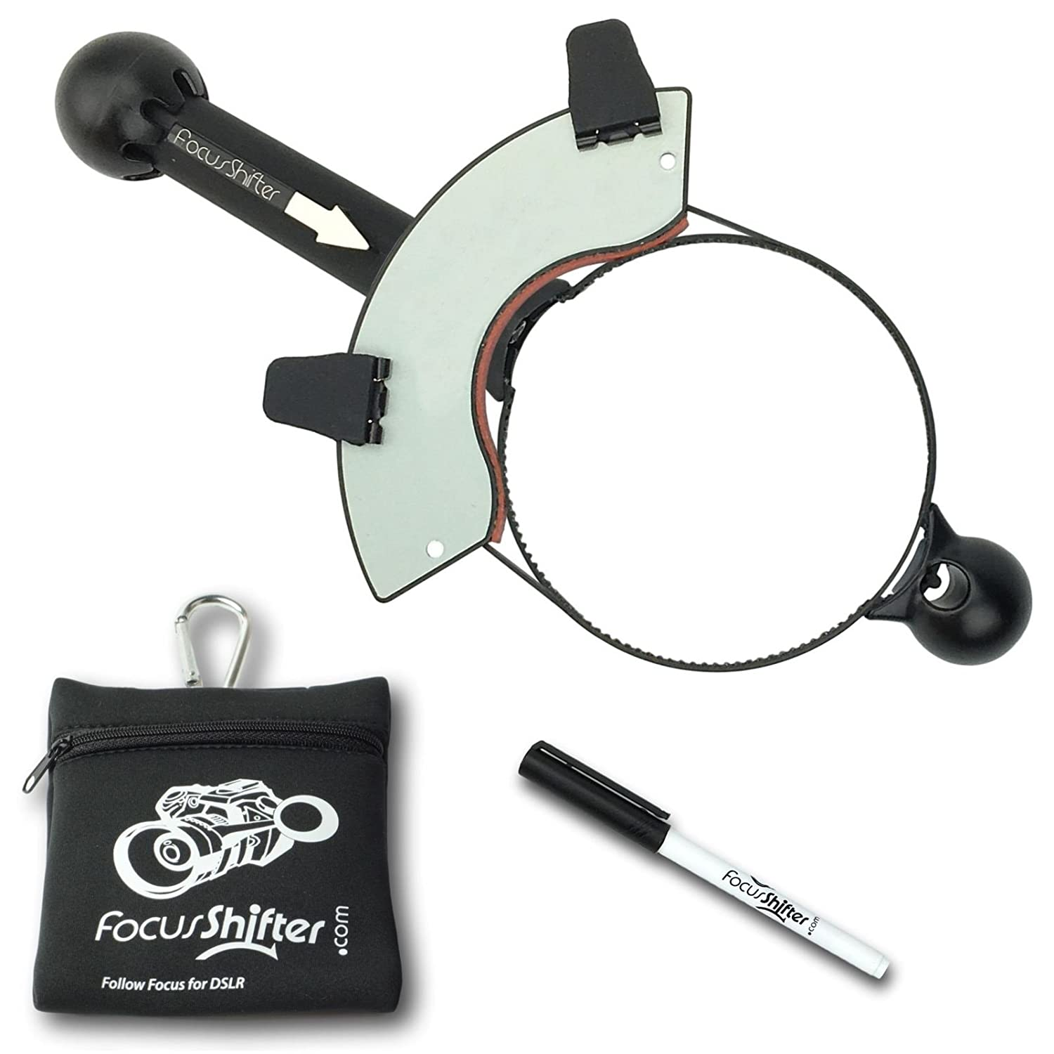 FocusShifter Follow Focus and Rack Focus for DSLR and Mirrorless Camera Engineerable ENG-FS02-SET