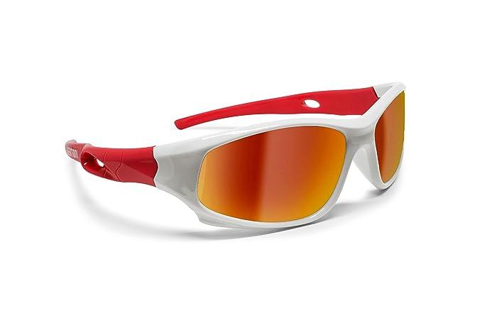 6ce4a56266 Image Unavailable. Image not available for. Colour  Kids Sport Sunglasses -  Polarized Lens Antiglare 100% UV Protection - Unisex Children ...