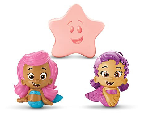 . Fisher Price Bubble Guppies  Molly  Oona  Starfish Bath Squirters