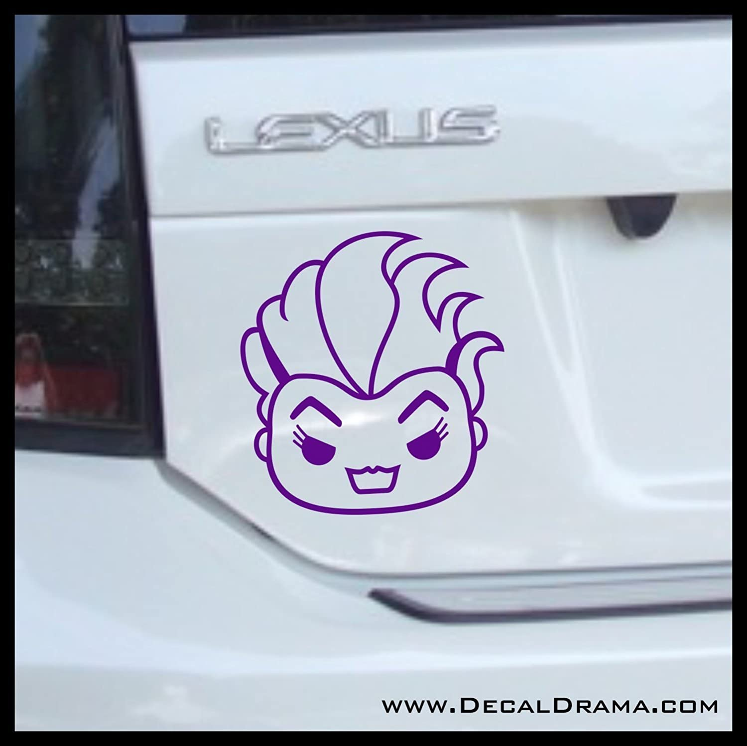 GIRL ON BOARD ARIEL sticker vinyl decal for car and others FINISH GLOSSY