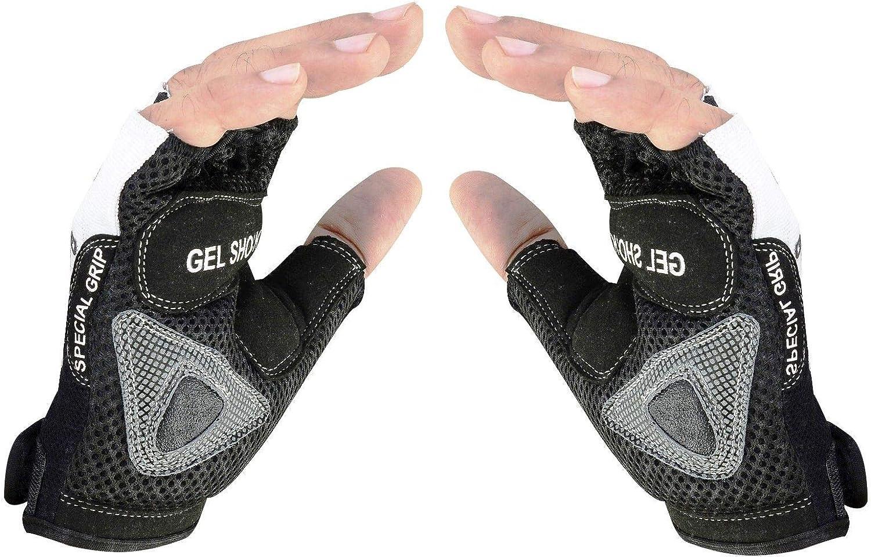 EVO Fitness-Handschuhe zum Gewichtheben atmungsaktiv f/ür Rollstuhl
