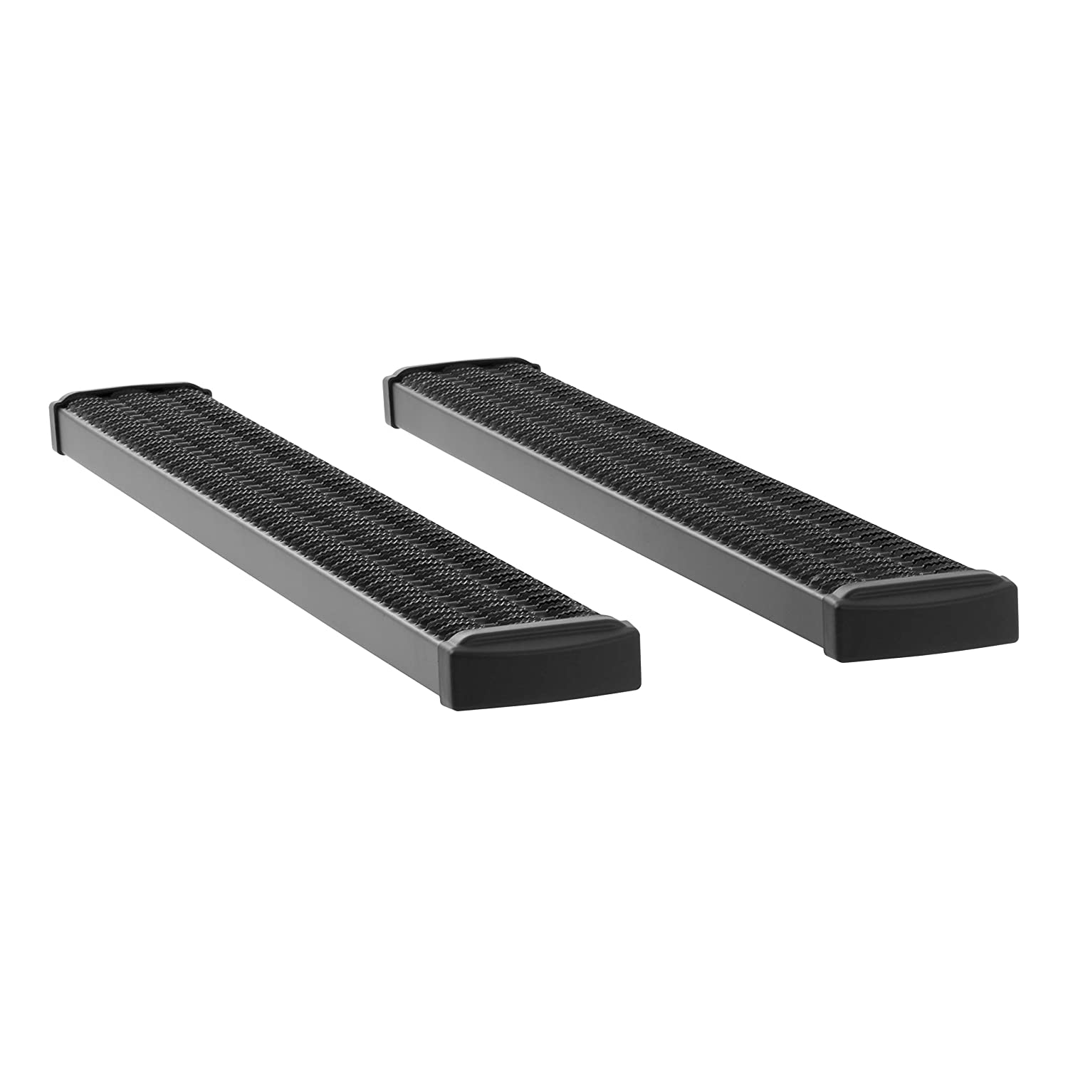 F-450 F-350 LUVERNE 415060-401721 Grip Step Black Aluminum 60-Inch Truck Running Boards for Select Ford F-250 F-550 Super Duty