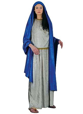 Stamco Disfraces Chiber - Disfraz Virgen Maria para Mujer ...
