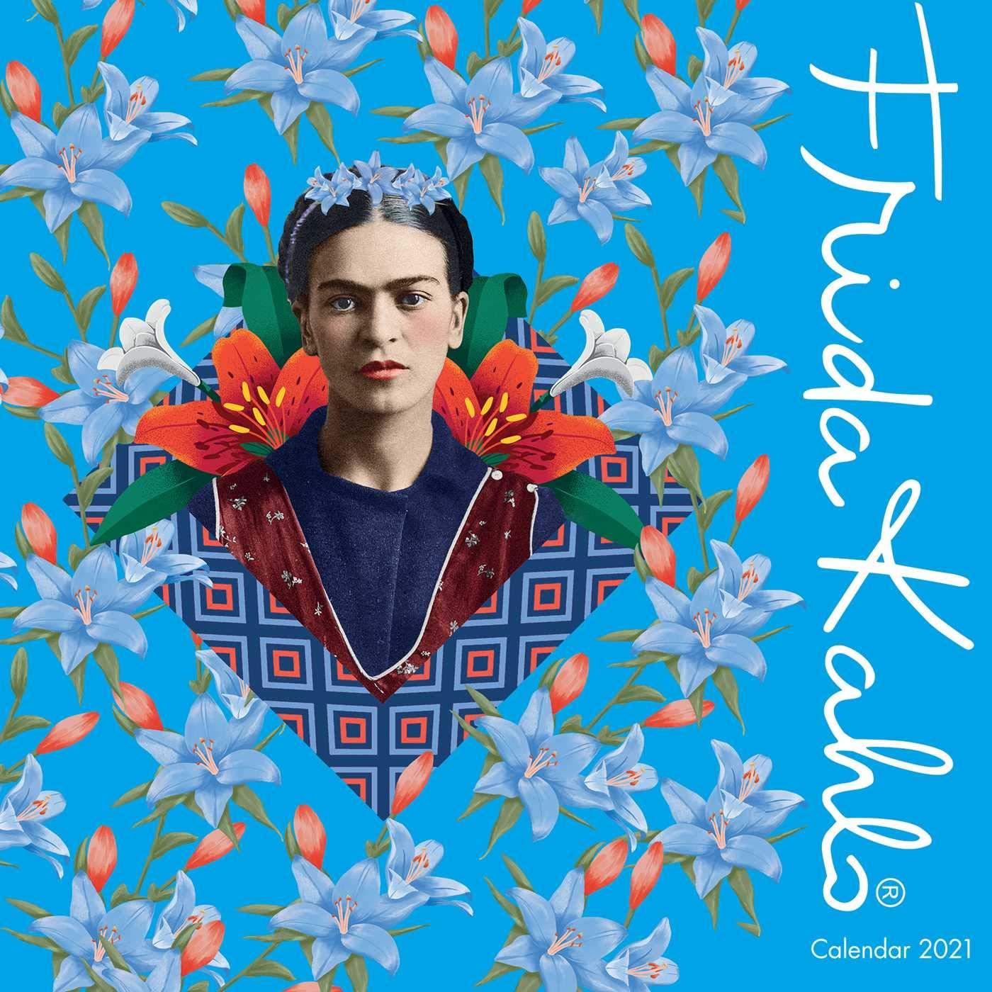Frida Kahlo Wall Calendar 2021 (Art Calendar): Flame Tree Studio