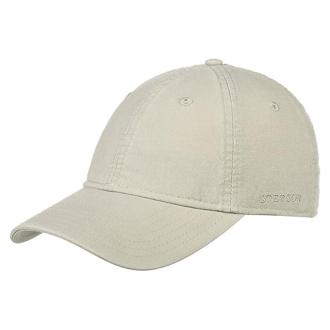 Stetson Ducor Sun Guard Fullcap Hombre | Gorra de Beisbol de algodón ecológico (sostenible)