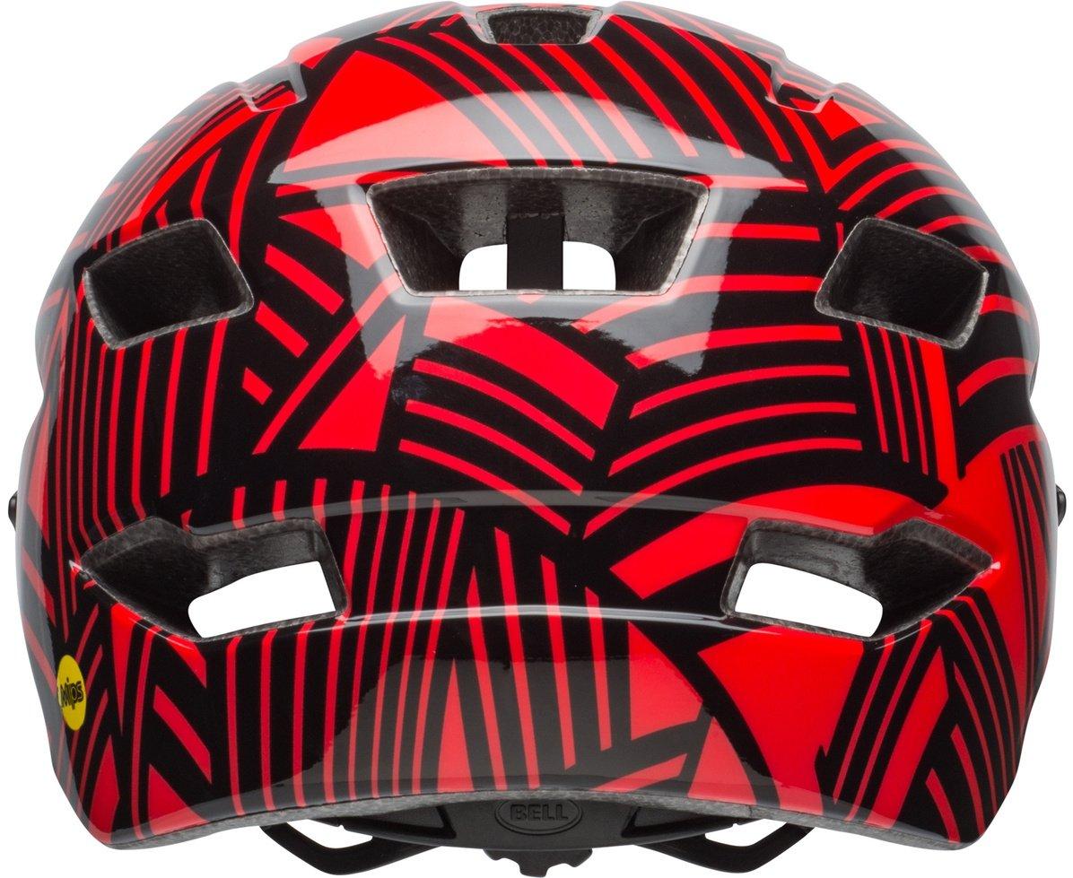 /Gloss Red Black Seeker BELL Side Track Y MIPS Junior Helmet/