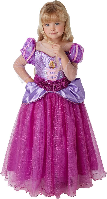 Princesas Disney - Disfraz de Rapunzel Premium para niña, infantil 3-4 años (Rubies 620484-S): Amazon.es: Juguetes y juegos