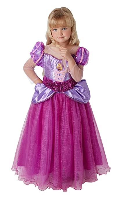 Princesas Disney - Disfraz de Rapunzel Premium para niña ...