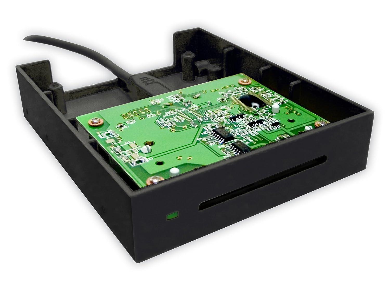 Bit4id miniLector F Interior USB 2.0 Negro lector de tarjeta ...