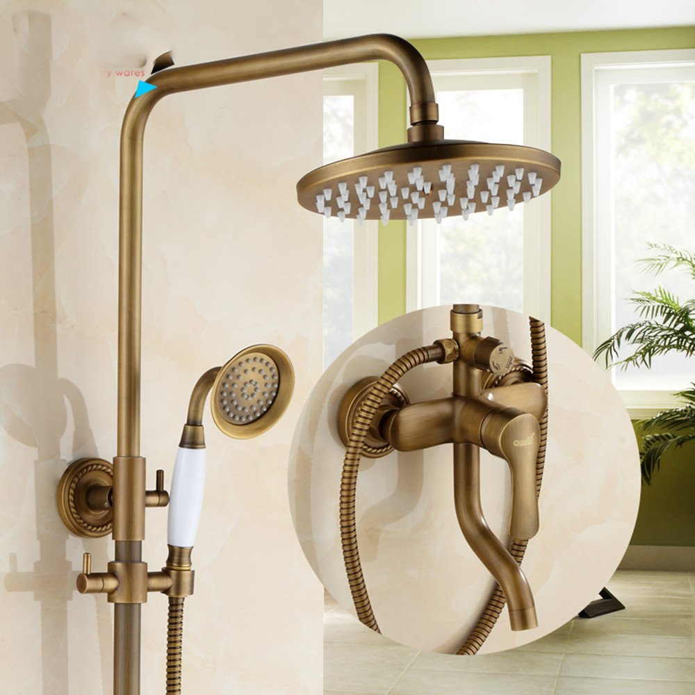 ZQ@QXAntique Cu all continental retro showers kit,