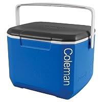 Coleman Erwachsene Coleman16 QT Excursion Cooler Tricolor Blue/White/Charcoal Kühlbox, Blau, L