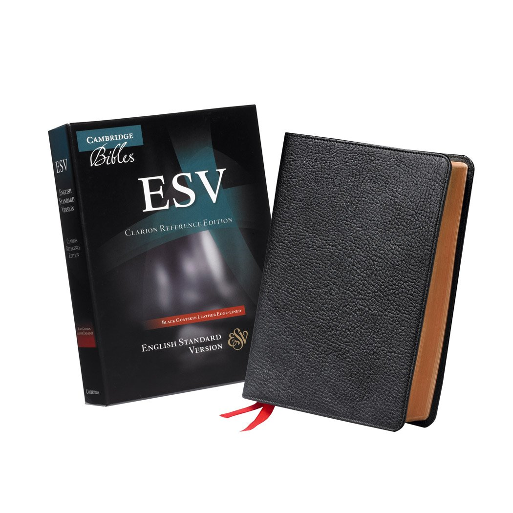 ESV Clarion Reference Edition ES486:XE Black Goatskin Leather PDF ePub book
