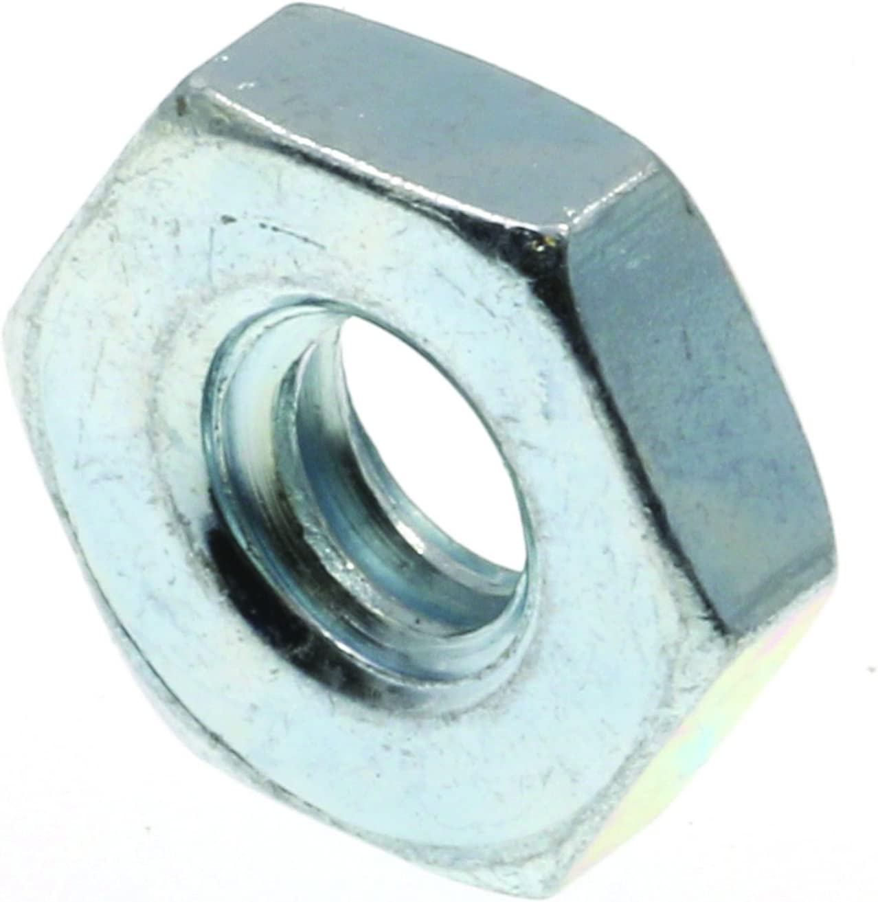 Zinc Plated Steel 100-Pack #12-24 Prime-Line 9074344 Machine Screw Hex Nuts