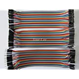 Dupont DPNT Jumper Wires Male to Male,  male to female, female to female, 120 Pieces