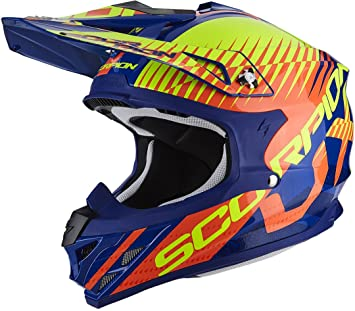 Scorpion Casco Moto VX-15 EVO AIR sin, multicolor, talla XXL