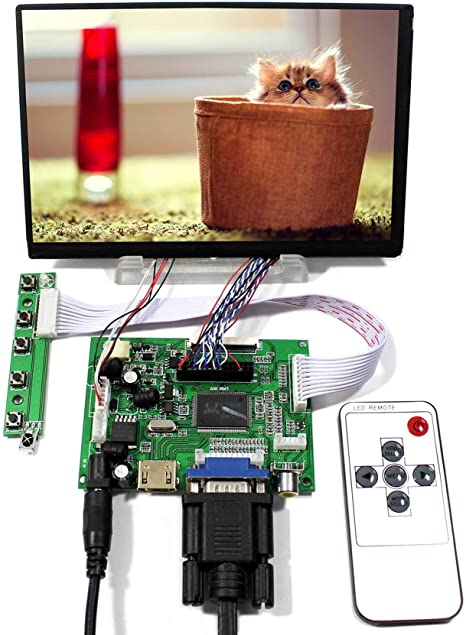 """HDMI Controller Board For 7/"""" 1024X600 50Pin LCD Screen Fit To Raspberry Pi"""